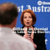 Gillard In Denial As Support Amongst Males Drops To All Time Low
