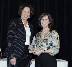 Controversial media Award winner Adele Horin (Right)